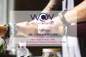 """Atelier """"Échange de compétences entre Women@Nantes"""""""